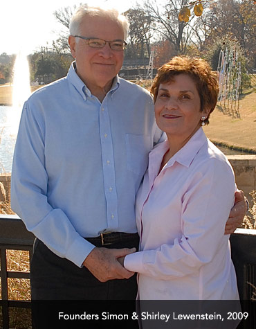 JPT Founders Simon and Shirley Lewenstein